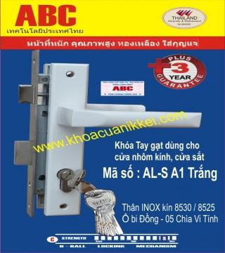 TAY GẠT ABC AL- A1 TRẮNG SỮA
