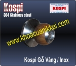 KOSPI TRÒN GỖ VÀNG - INOX